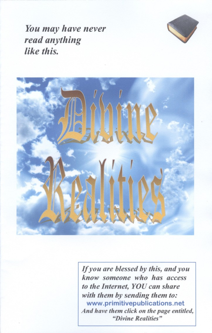 Divine Realities, cover