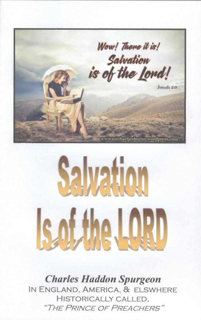 Salvation is of the Lord, cover