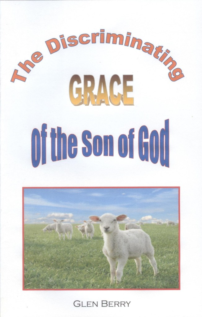 The Discriminating Grace of God, cover