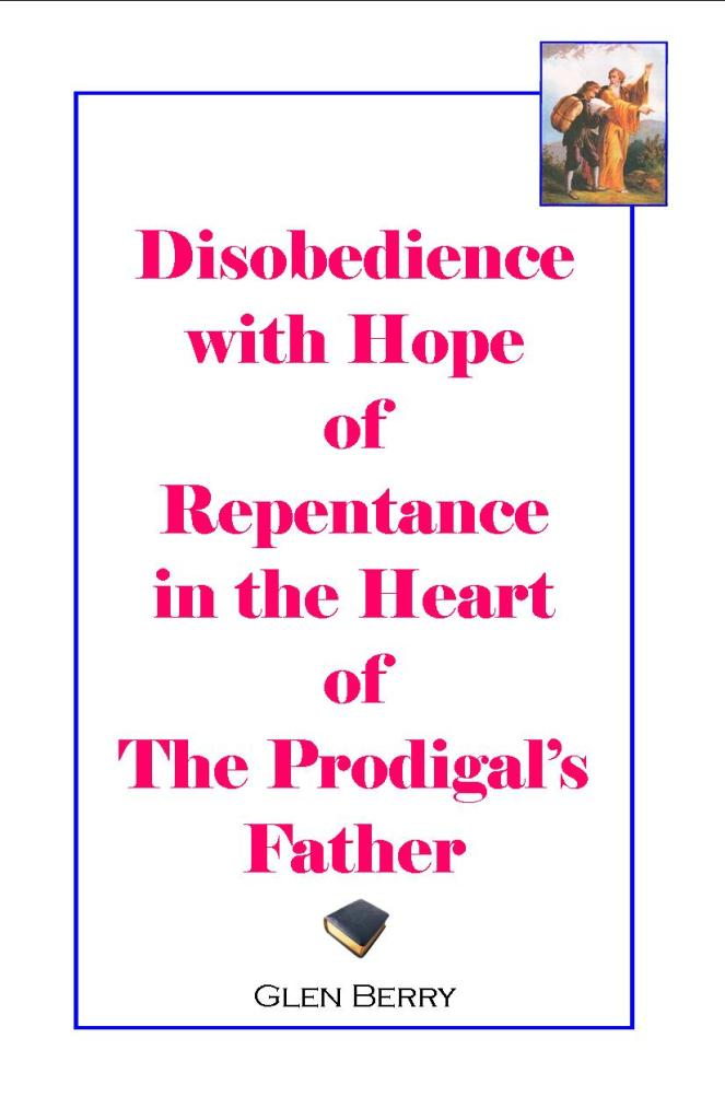 Disobedience, repentance