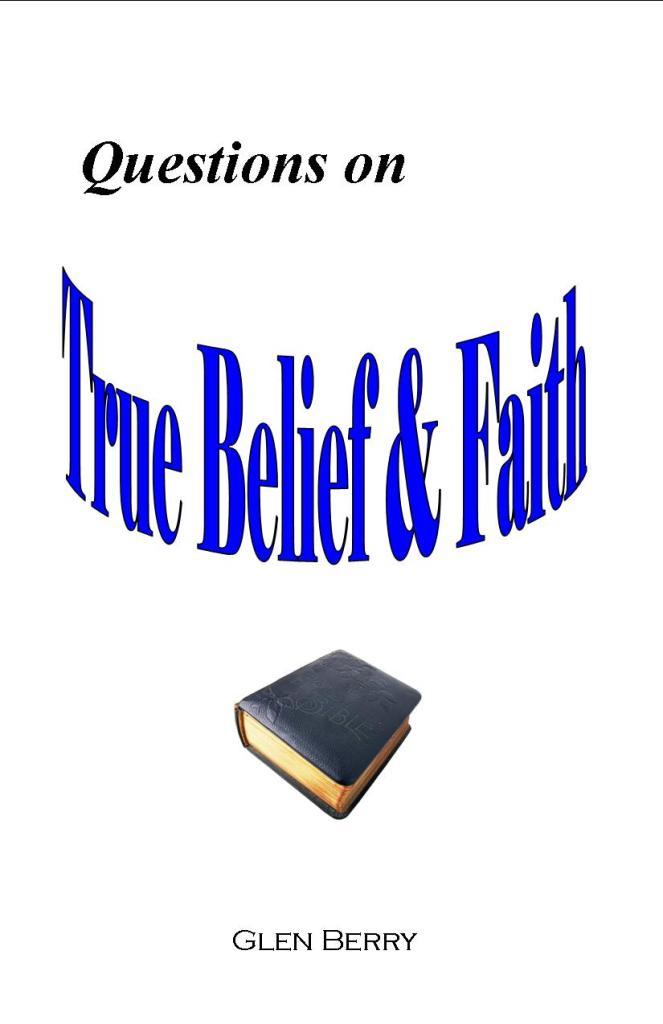 Questions on True Belief